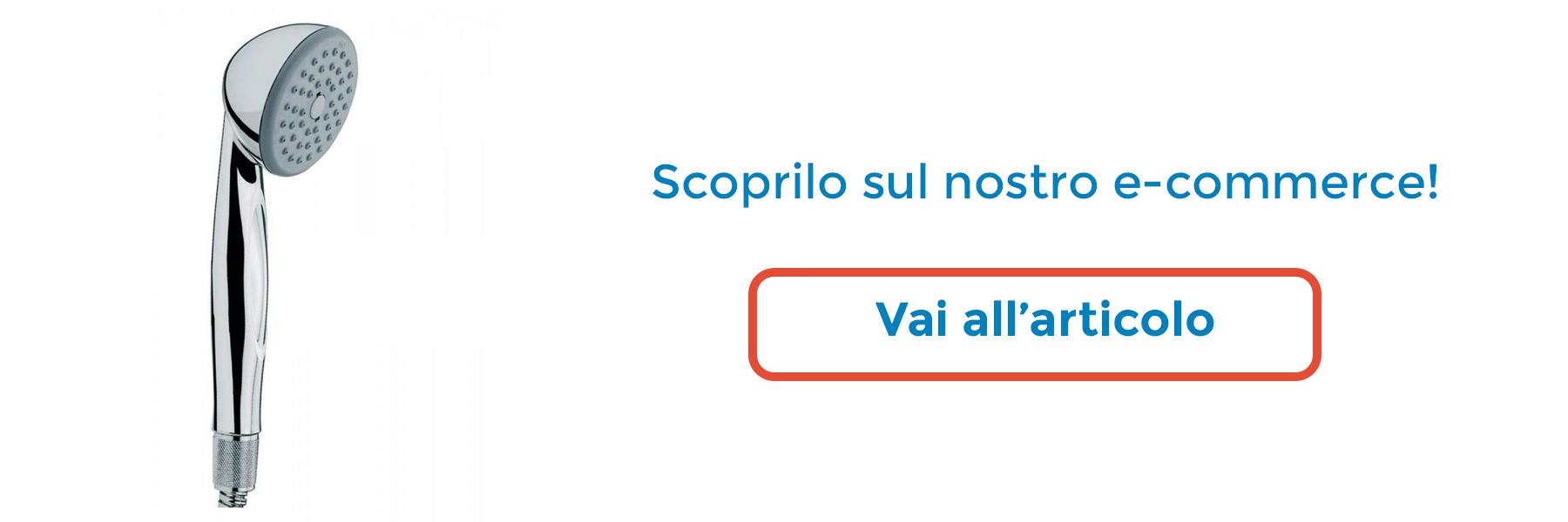 DOCCETTA CROMATA BOSSINI MIKI 1 GETTO - Bossini, docce e relax - ThermoIgienica s.r.l.