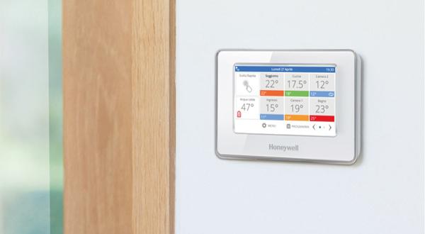 Honeywell, la soluzione per gestire il riscaldamento quando e dove vuoi
